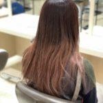 ピンク色のヘアカラー色落ち期間は何日?色落ち後はどうなる?