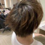 メンズのショートヘアで直毛な髪の毛をパーマとカラーでおしゃれにする!