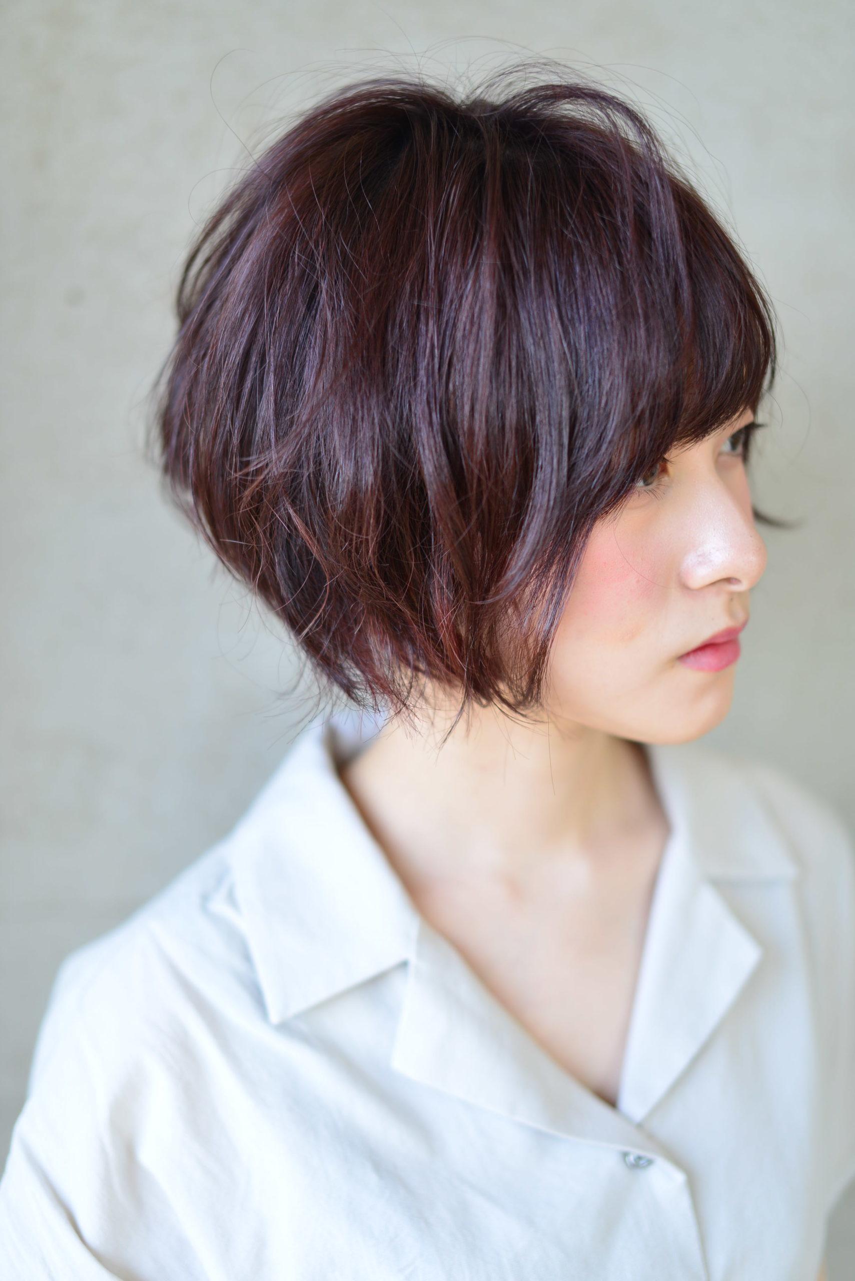 黒髪 から バター カラー
