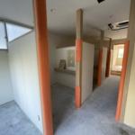 【美容室の個室】札幌厚別区のリトルストーン工事途中経過